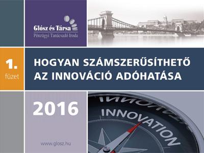 Innováció, kutatás-fejlesztés adókedvezménye